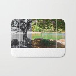tree collage Bath Mat