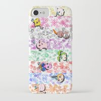 digimon iPhone & iPod Cases featuring Digimon 15th Anniversary by AbigailC