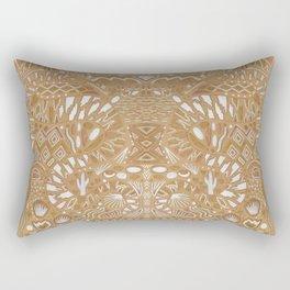 Metallic Snake Rectangular Pillow