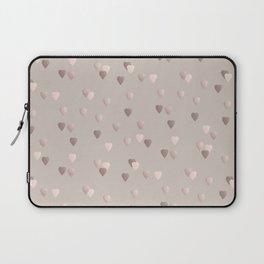 Elegant rose gold heart pattern Laptop Sleeve