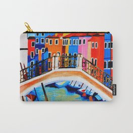 Colors of Venice Italy Carry-All Pouch