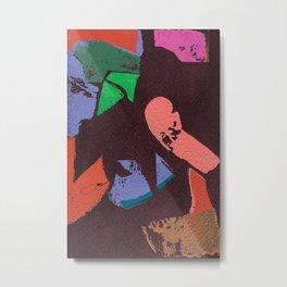 Topograph a1 Metal Print