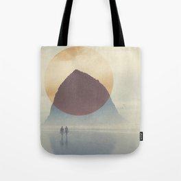 Haystack Rock of Cannon Beach, Oregon Tote Bag