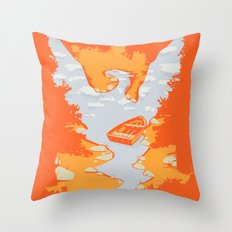 River Phoenix - Autumn Throw Pillow