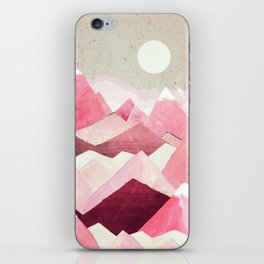 Blush Berry Peaks iPhone Skin