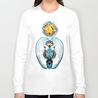 skyfall Long Sleeve T-shirts featuring Cosmic Skyfall Dragon by Pr0l0gue