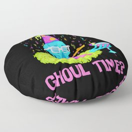 Lookin' for a ghoul time? Floor Pillow