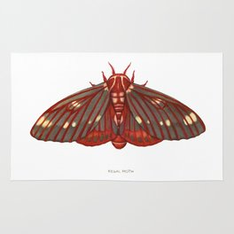 Regal Moth Rug