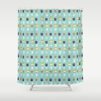sailormoon Shower Curtains featuring SailorMoon MeyMey by Raimondo Tafuri