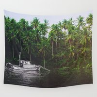 surreal Wall Tapestries featuring SURREAL by Troy Spino