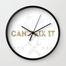 Papi-Can-Fix-It Wall Clock