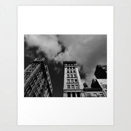 Look up New York 3 Art Print