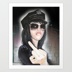 NYPD Rebel Art Print