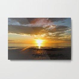 sunset over Broome Metal Print