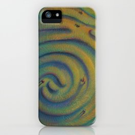 """Imprinted Labyrinth"" iPhone Case"