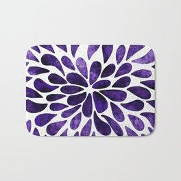 Petal Burst Ultra Violet Bath Mat