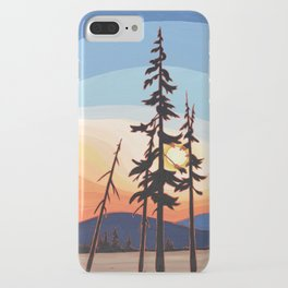 Like A Fire Is Burning iPhone Case