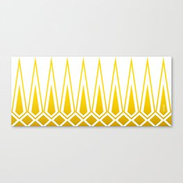 Mid Century Muse: Norms in Mustard Canvas Print