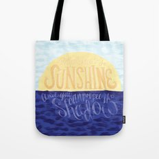 Face the Sunshine Tote Bag