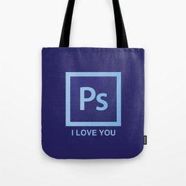 PS I LOVE YOU Tote Bag