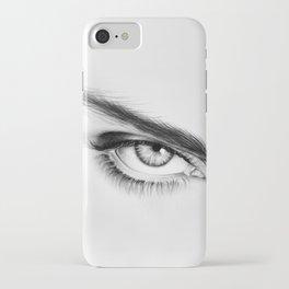 Eye Drawing iPhone Case