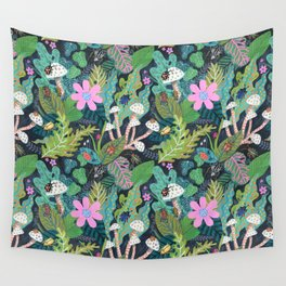 Beetle Pattern Wall Tapestry