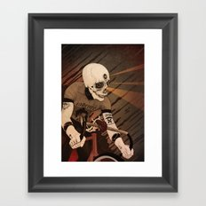 Fixed & what? Framed Art Print