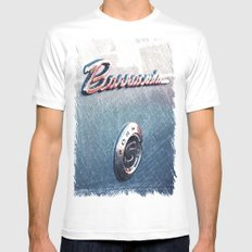 Barracuda Americana White Mens Fitted Tee SMALL