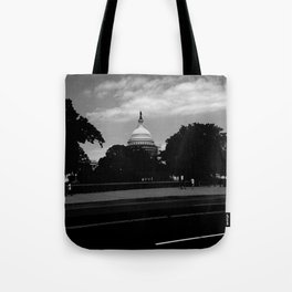 Guarding the Capitol Tote Bag