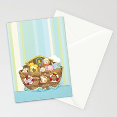 Baby Noah Ark Stationery Cards