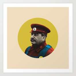 Soviet Mario Art Print