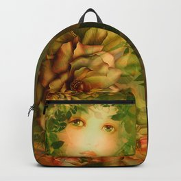 """The memory of an imagined childhood"" Backpack"