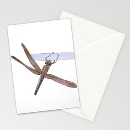 Shy Little Dragonfly Stationery Cards