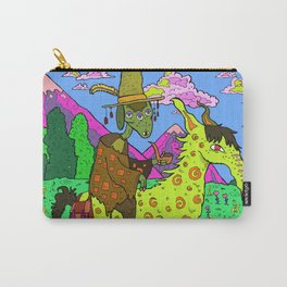 Pipe Man and His Horse Carry-All Pouch