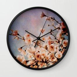 Spring Romance Wall Clock