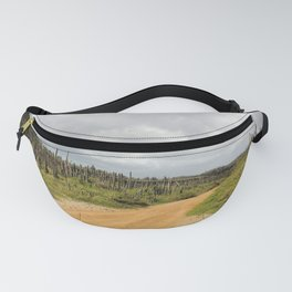 Grey Clouds over Bonaire Island in the Caribbean Fanny Pack