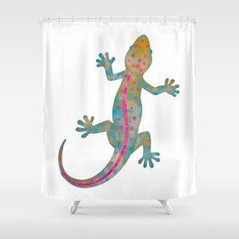 Groovy Gekko Shower Curtain