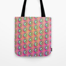 Candybuttons Pattern Tote Bag