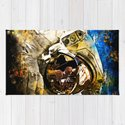 astronaut in space splatter watercolor by gxp-design