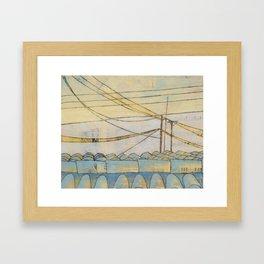 fragile & so strong Framed Art Print