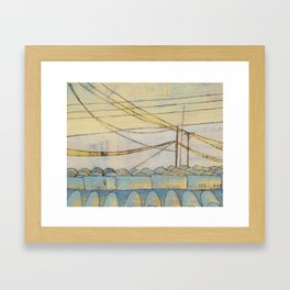 fragile & so strong Framed Art Print
