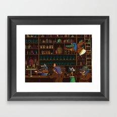 The Canopic Jar Framed Art Print