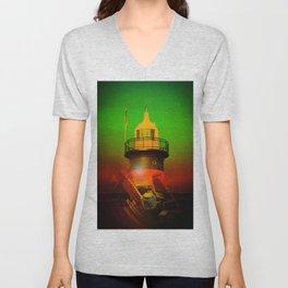 Lighthouse 4 Unisex V-Neck