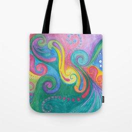Swirls N Whirls Tote Bag