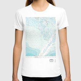 LA Mississippi River Delta 335172 1983 topographic map T-shirt
