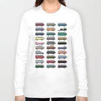 van Long Sleeve T-shirts featuring Camper Van by WyattDesign
