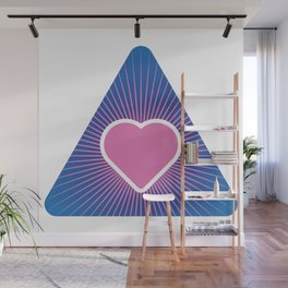 Algorithm of Immaculate Joy Wall Mural