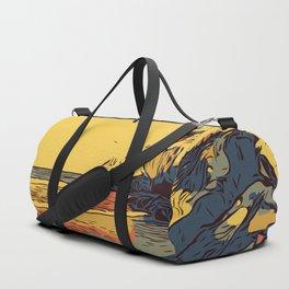 Pimso Beach Cliffs Duffle Bag