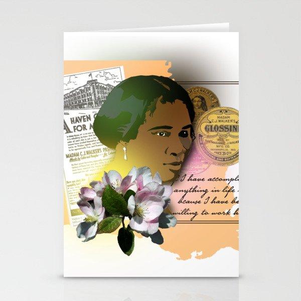 Madame CJ Walker Stationery Cards