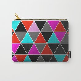 Industrial Triangles Carry-All Pouch